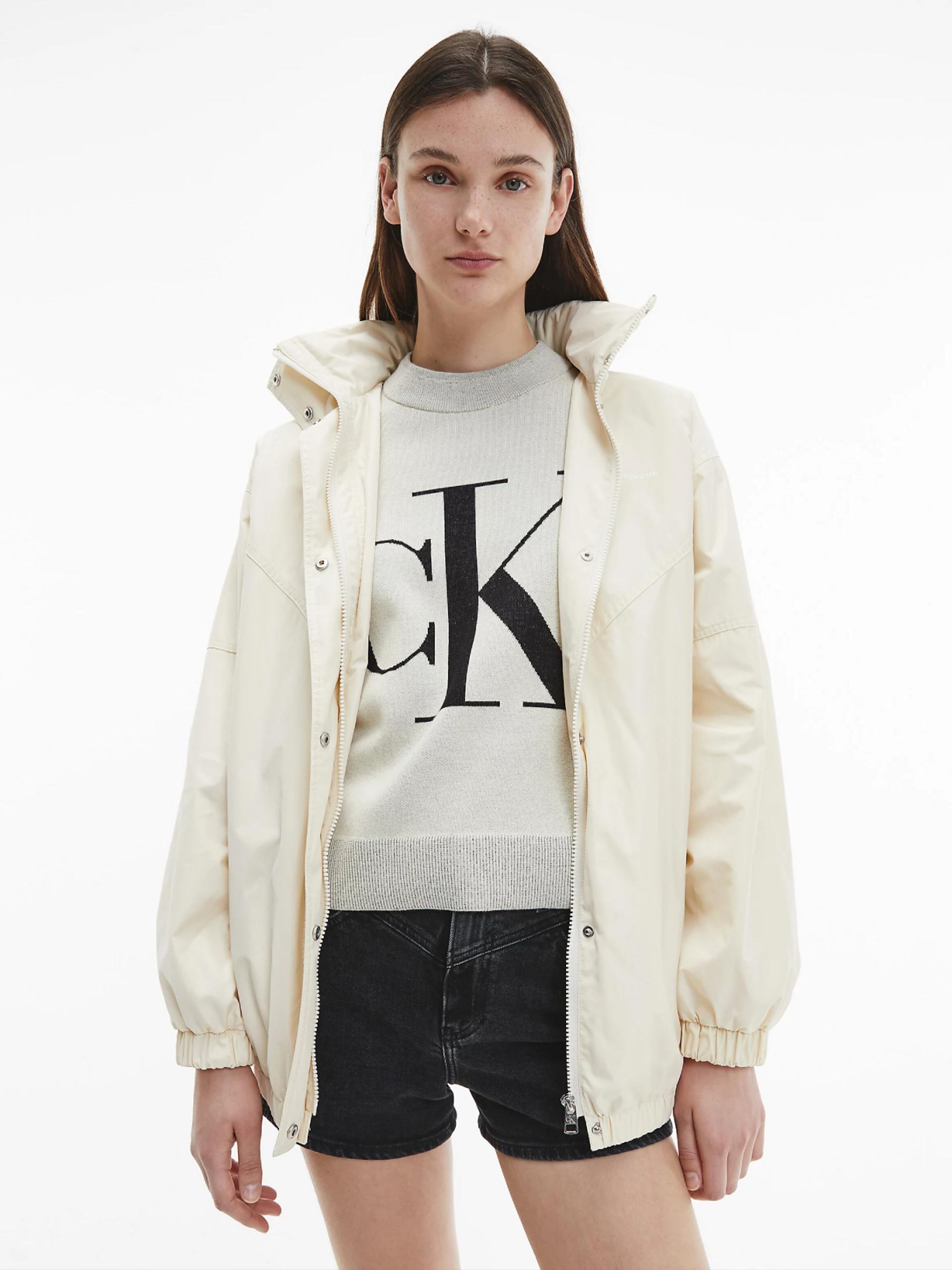 Calvin Klein dámská béžová bunda
