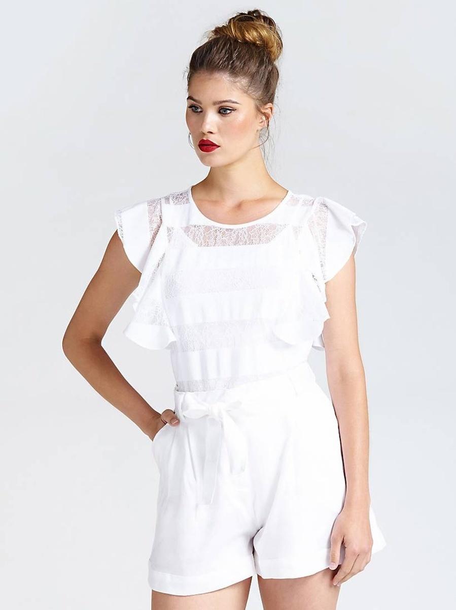 Guess dámský bílý top