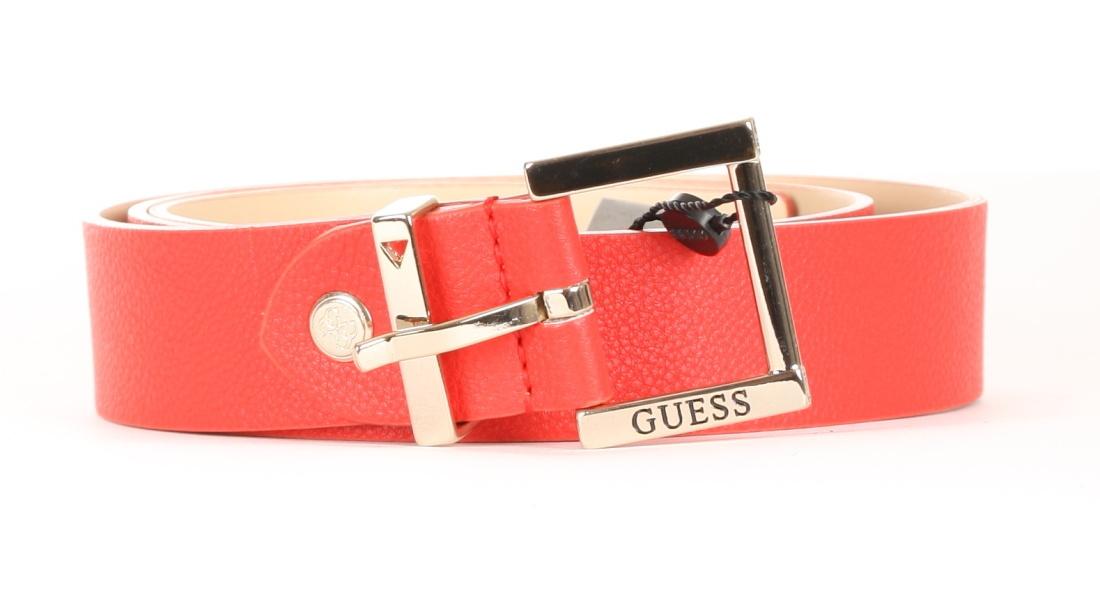 Guess dámský červený pásek