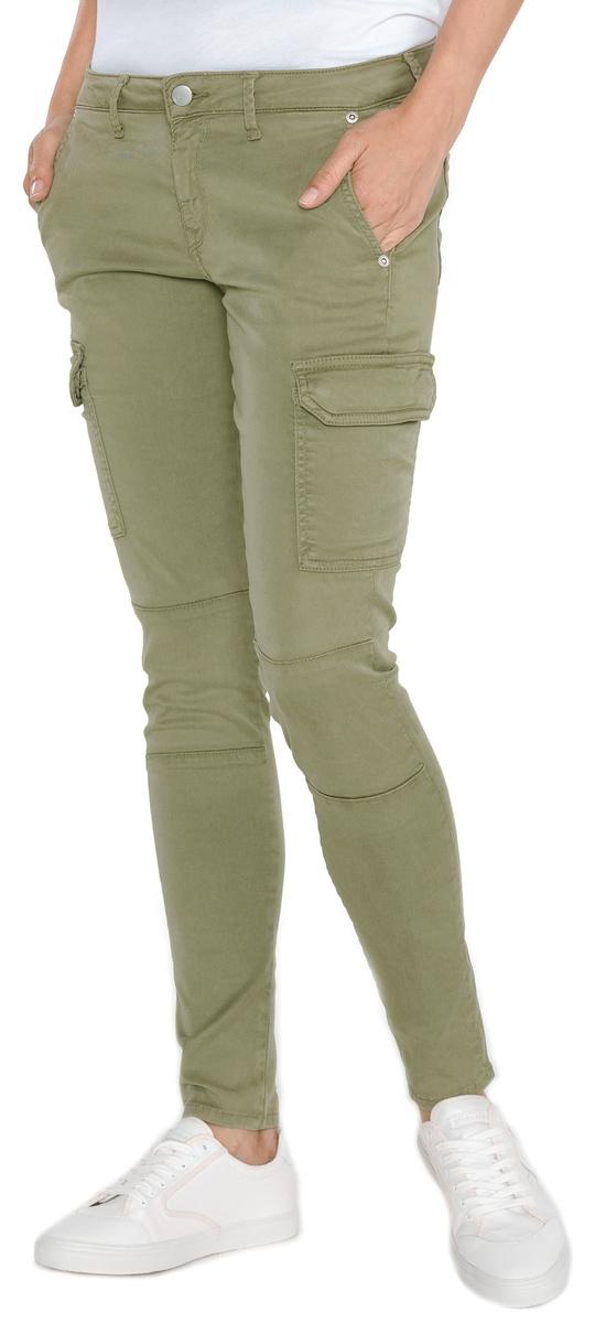 1abca96a0e90 Pepe Jeans dámské zelené kapsáčové kalhoty Survivor - 30 30 (765)