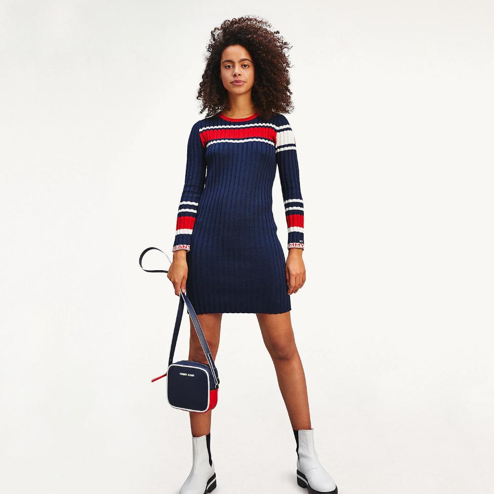 Tommy Jeans dámské pletené šaty