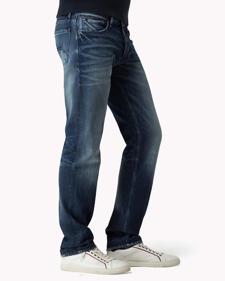 06735ad136b Tommy Hilfiger pánské džíny Original - Mode.cz