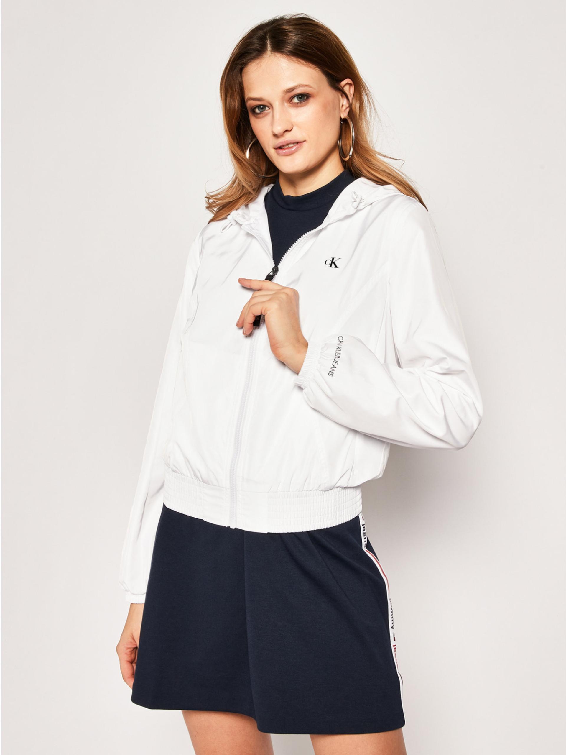 Calvin Klein dámská bílá bunda