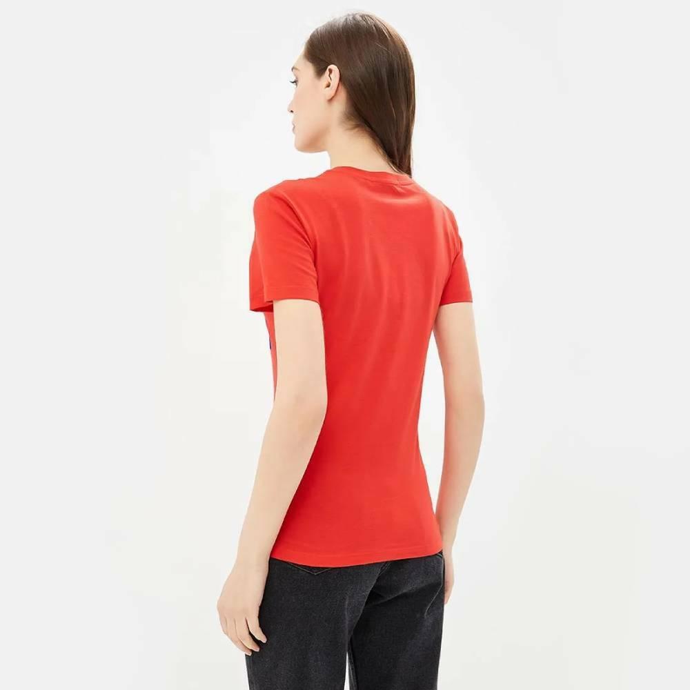 605f012964 Calvin Klein dámské červené tričko Institutional - Mode.cz