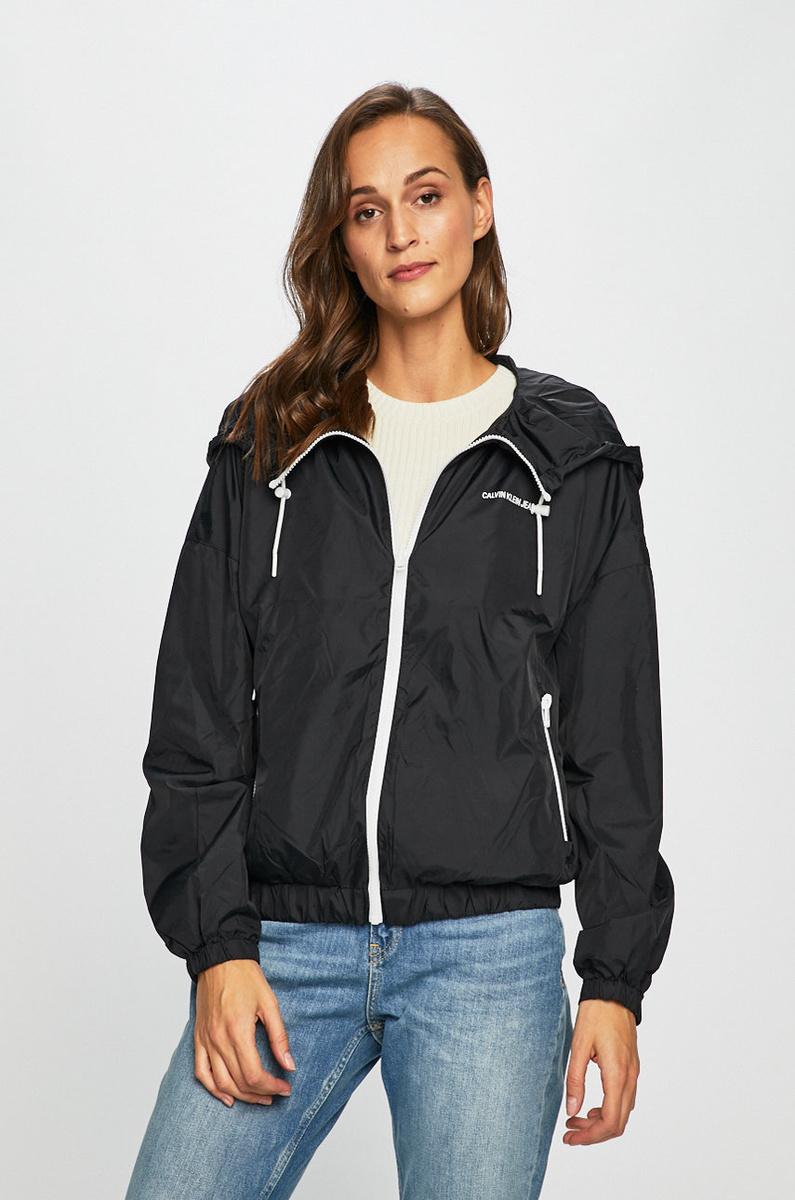 Calvin Klein dámská černá bunda Nylon
