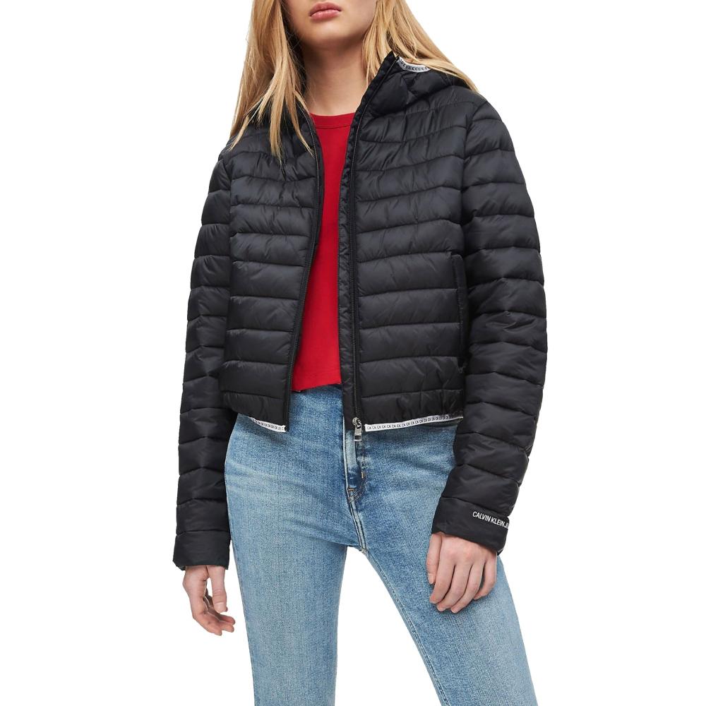 Calvin Klein dámská černá bunda Logo