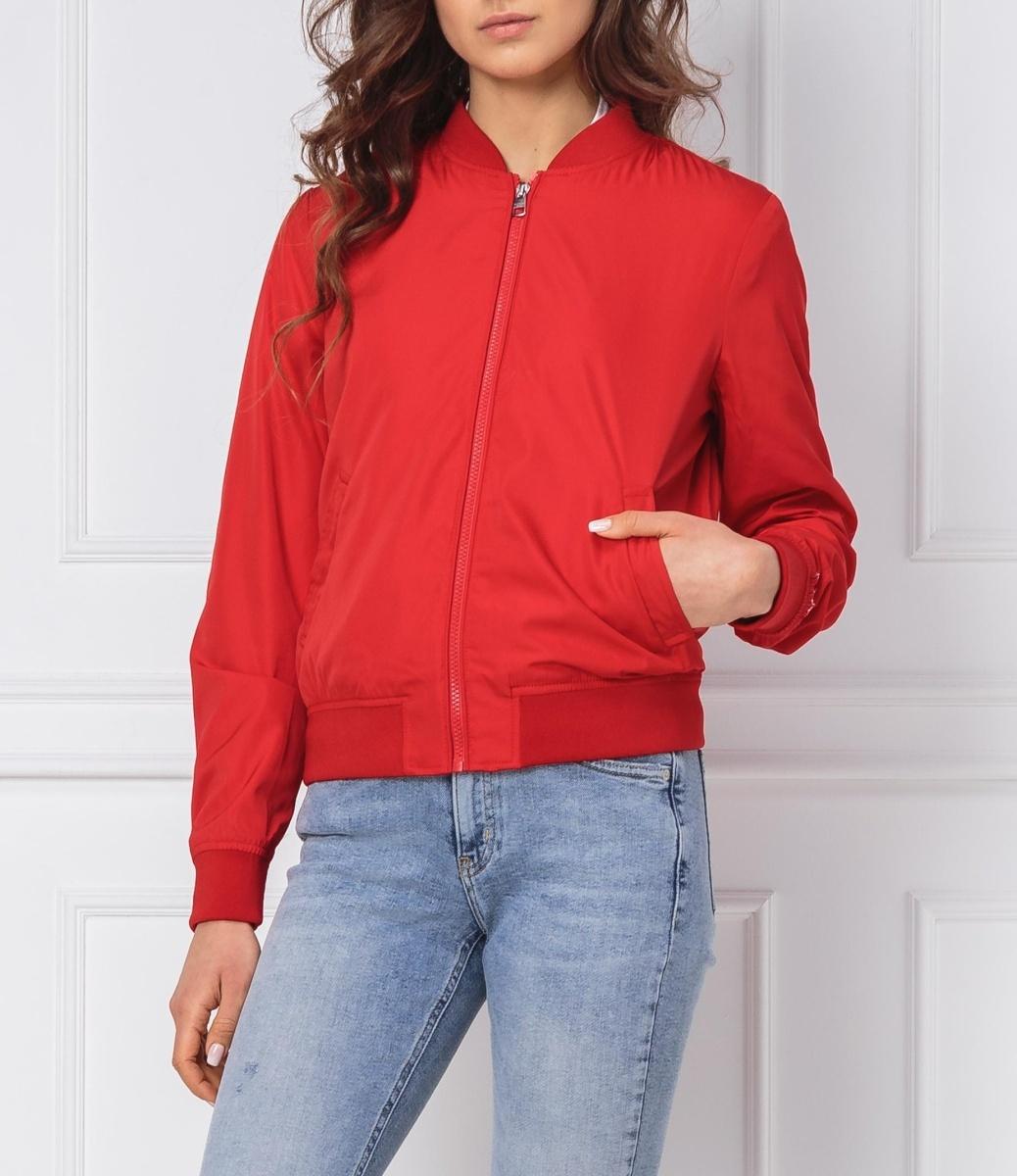 Calvin Klein dámská červená bunda Core