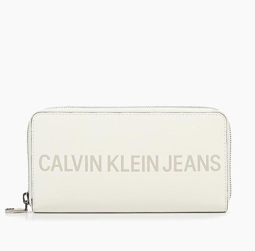 Calvin Klein dámská bílá peněženka