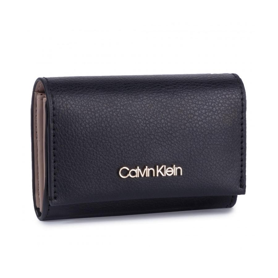Calvin Klein dámská malá černá peněženka