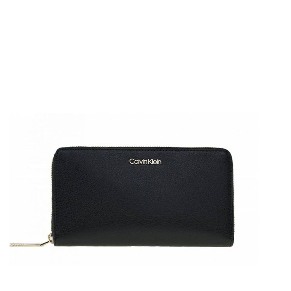 Calvin Klein dámská velká černá peněženka Classic