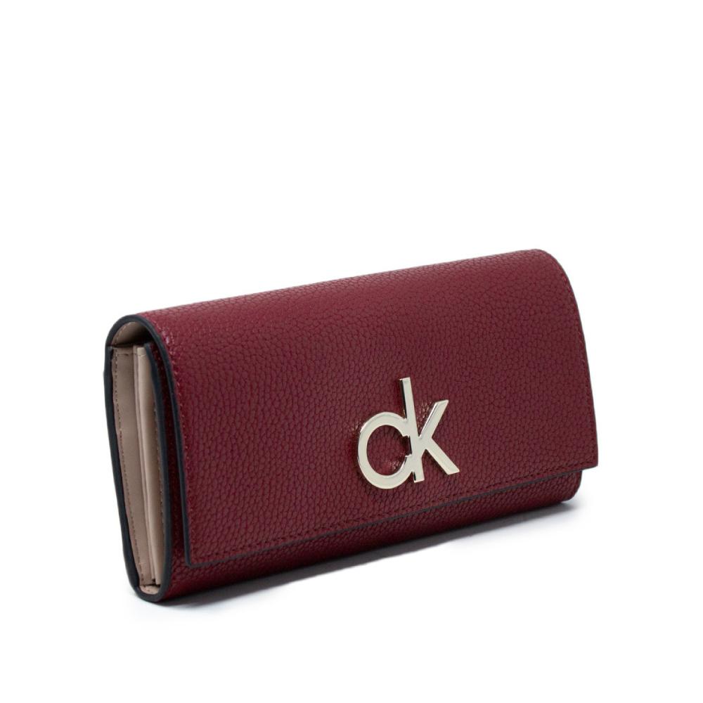 Calvin Klein dámská velká vínová peněženka CK
