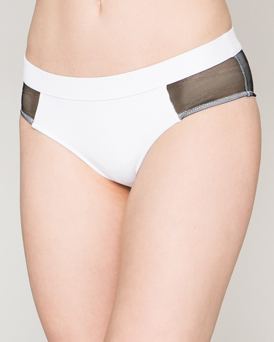 0c4badfea Calvin Klein dámské bílé plavkové kalhotky