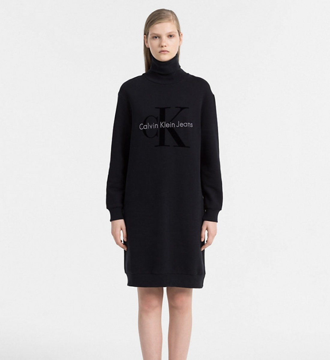 Calvin Klein dámské černé šaty Doll - Mode.cz 4a57e43110c