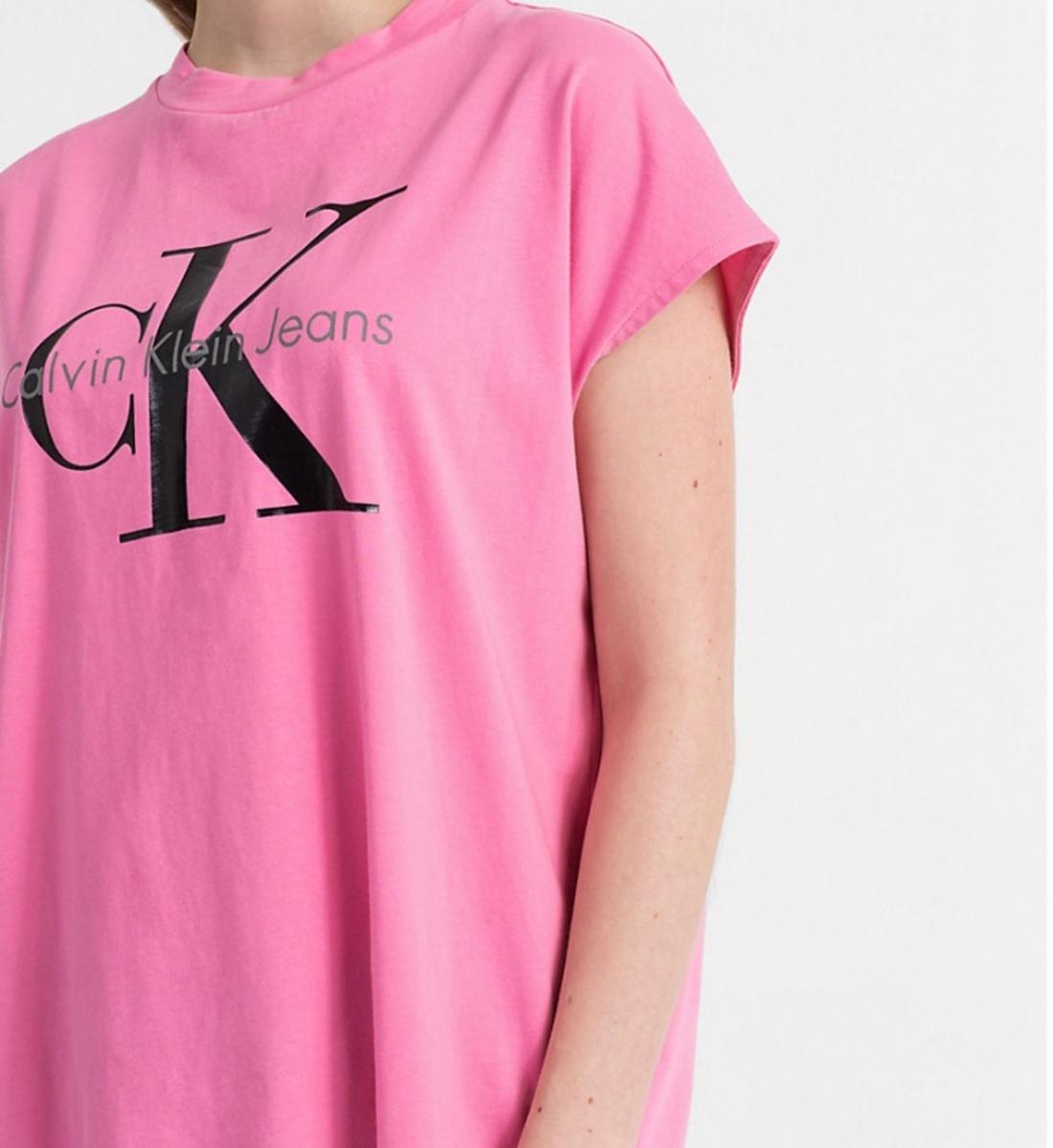 52990d2a57d1 Calvin Klein dámské růžové tričko - Mode.cz