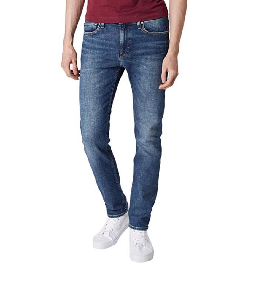 Levně Calvin Klein pánské modré džíny - 33/32 (911)