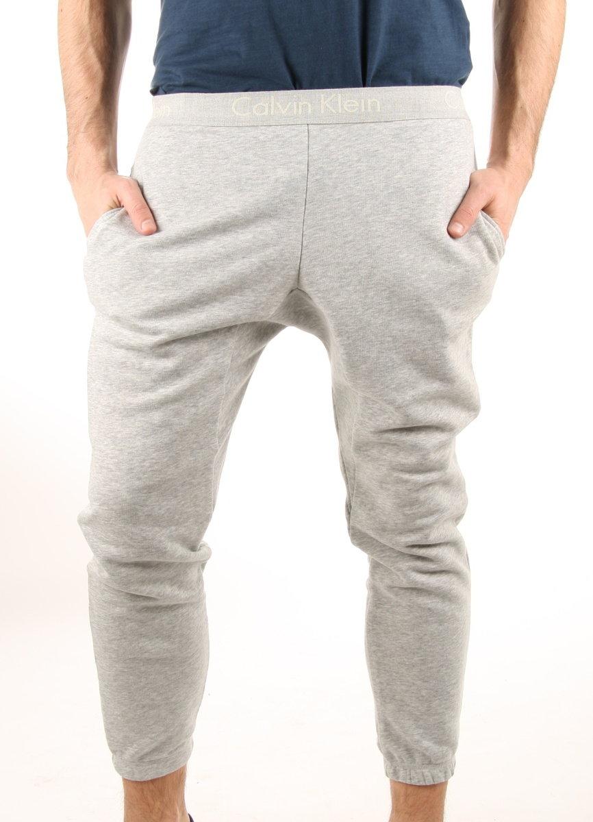Calvin Klein pánské šedé tepláky Jogger - M (20)