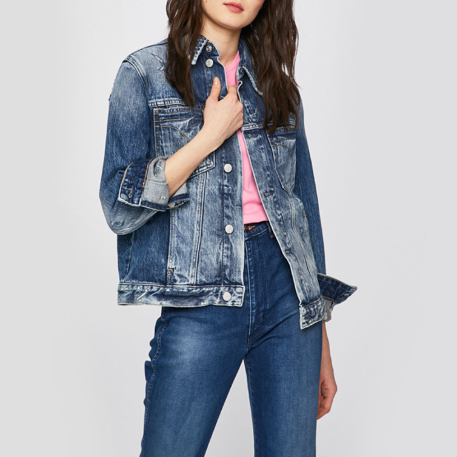 Calvin Klein dámská džínová bunda Omega
