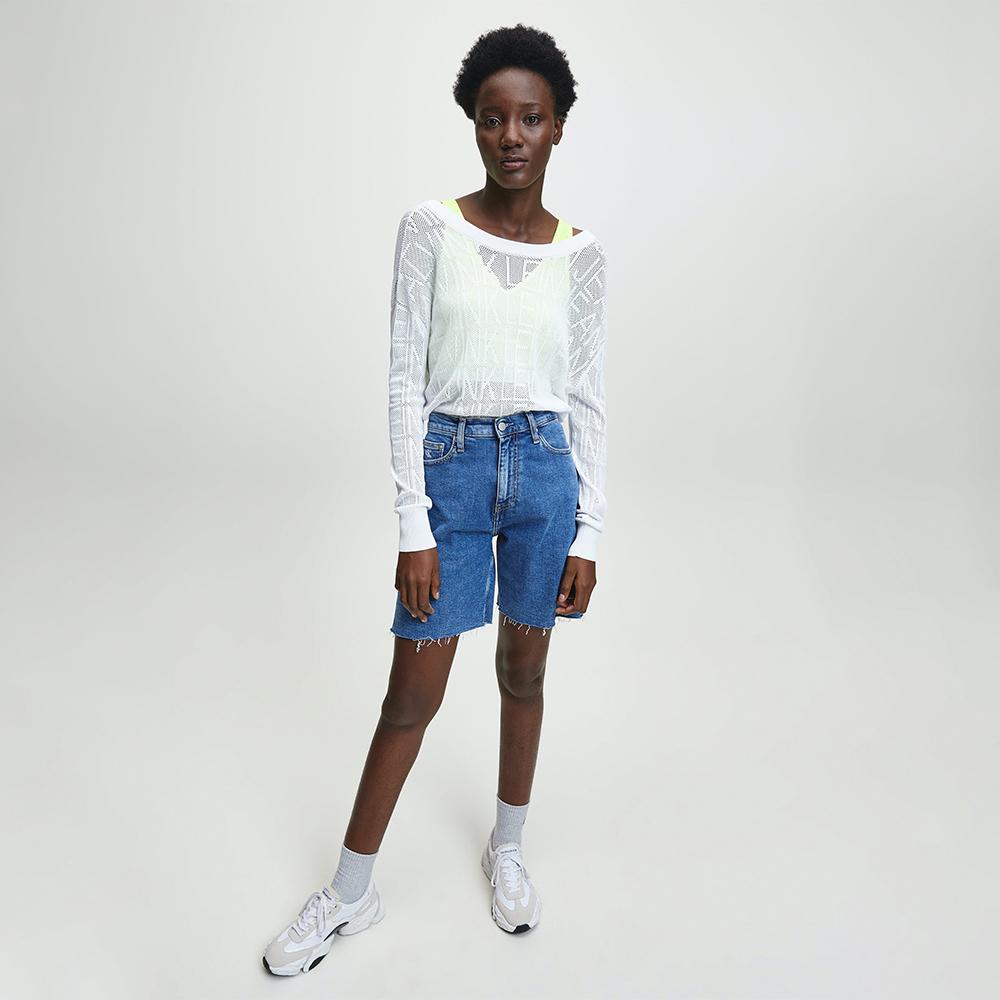Calvin Klein dámský bílý svetr