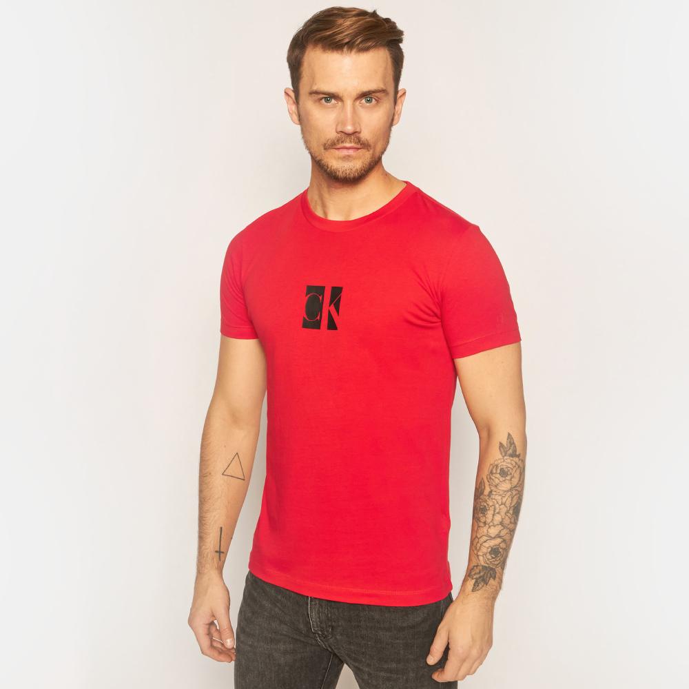 Calvin Klein pánské červené triko