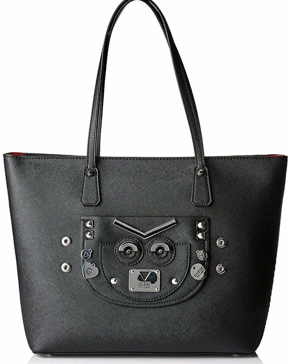 Guess dámská černá kabelka - Mode.cz 6d28876f99