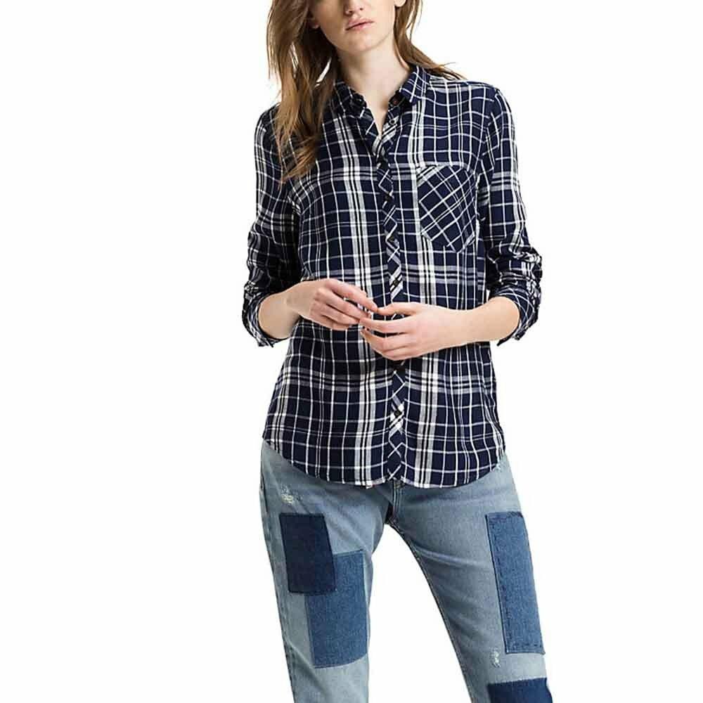 Tommy Hilfiger dámská kostkovaná košile