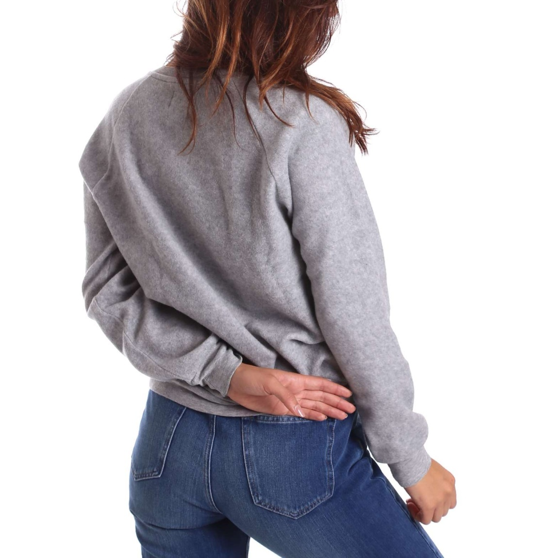 Pepe Jeans dámská šedá mikina Nana - Mode.cz b8657ccc7d2