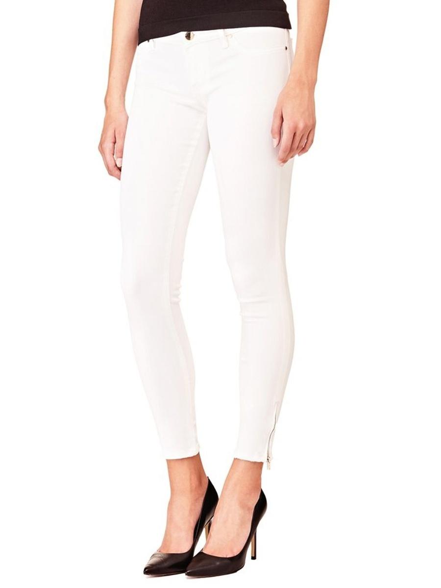 Guess dámské bílé džíny - 25 (FEWH)