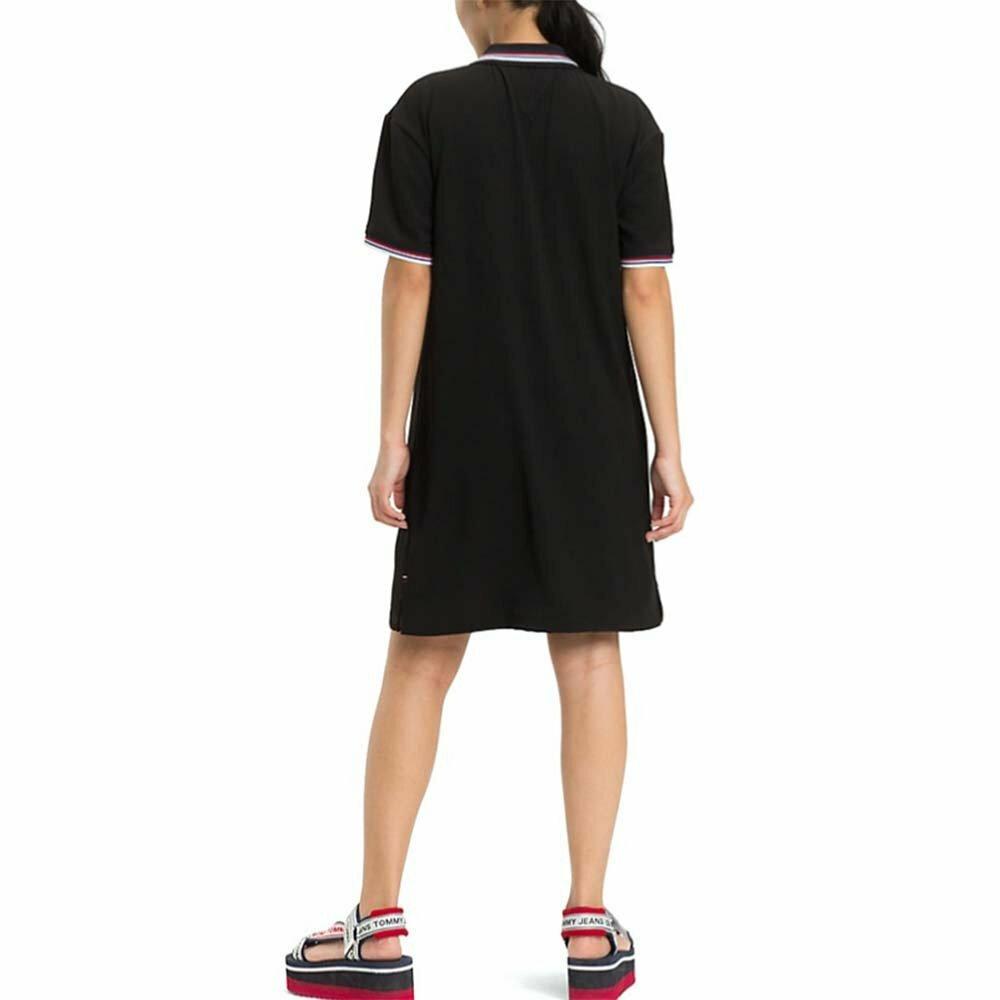63a79b14fbd2 Tommy Hilfiger dámské černé polo šaty Modern - Mode.cz