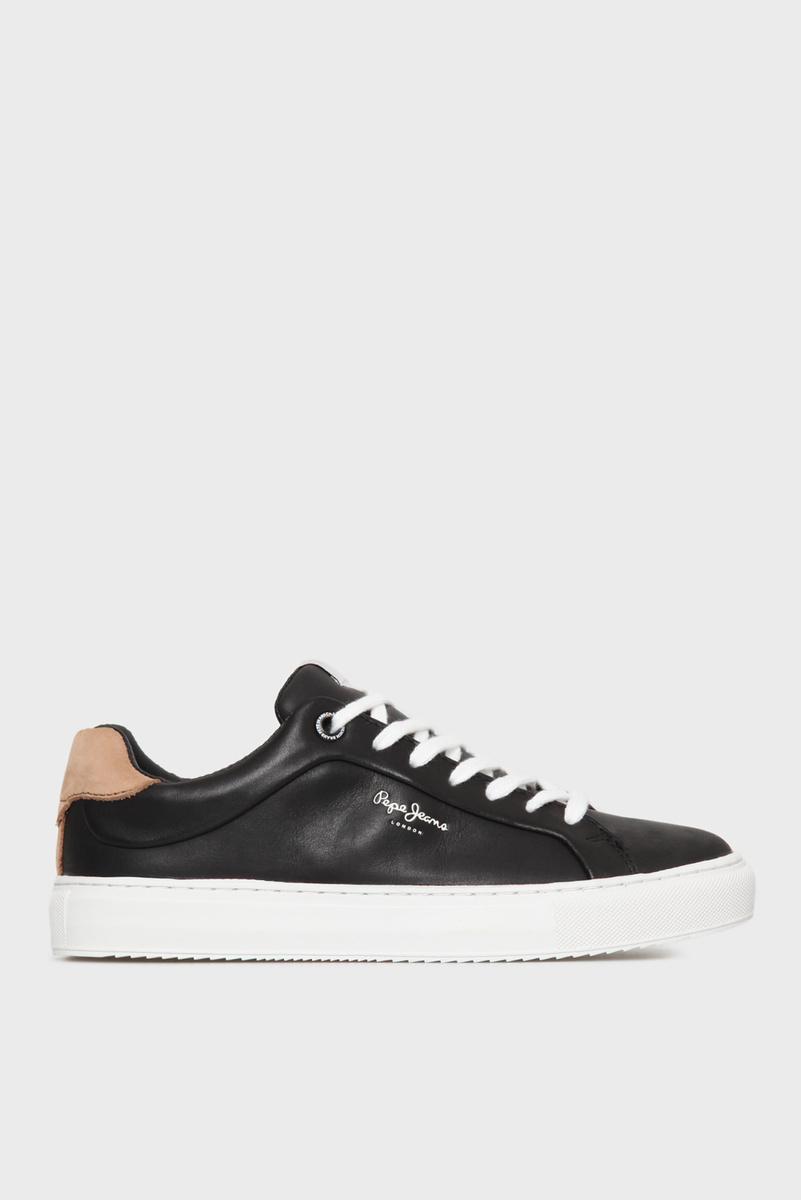 Pepe Jeans dámské černé tenisky