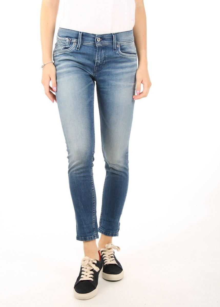 Pepe Jeans dámské modré džíny Joey - 29/28 (000)