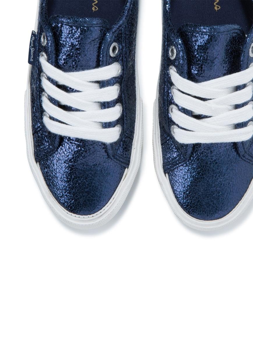 Pepe Jeans dámské modré tenisky Aberlady - Mode.cz b583e2debb