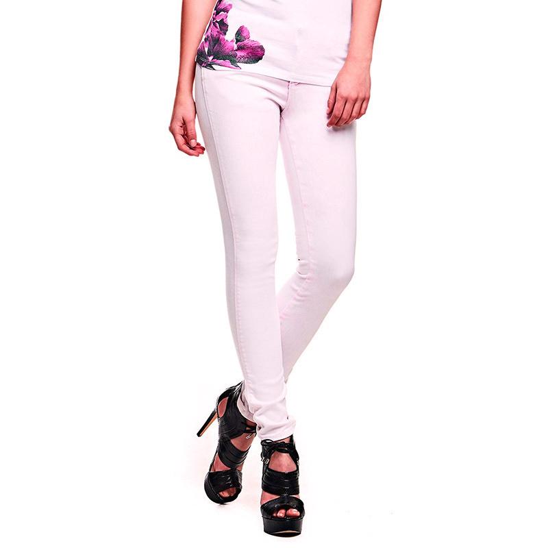 72a137fc1e1 Guess dámské světle růžové džíny - Mode.cz