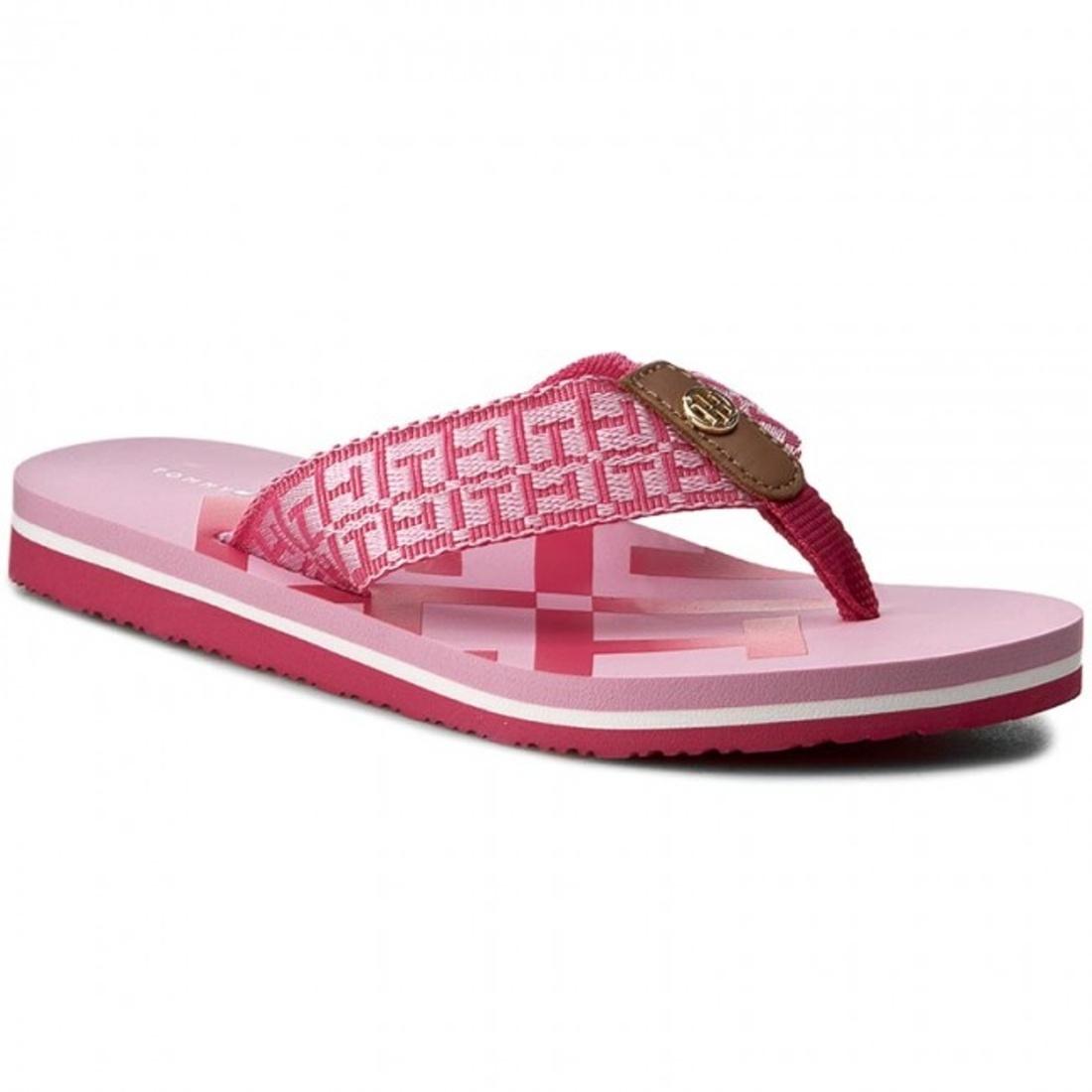 Tommy Hilfiger dámské růžové žabky - Mode.cz 5a95392ee7