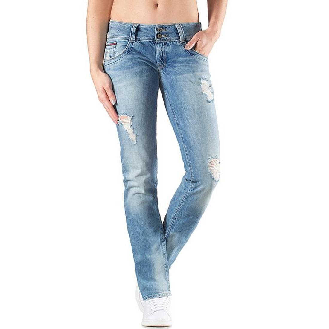 Tommy Hilfiger dámské světle modré džíny - Mode.cz 6fe61c4ce9