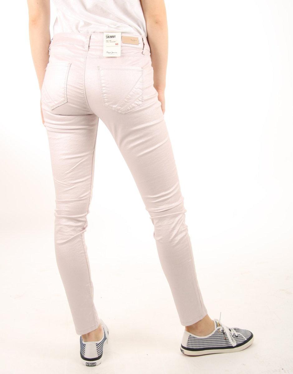 a837719a0ac0 Pepe Jeans dámské světle růžové kalhoty Lola - Mode.cz