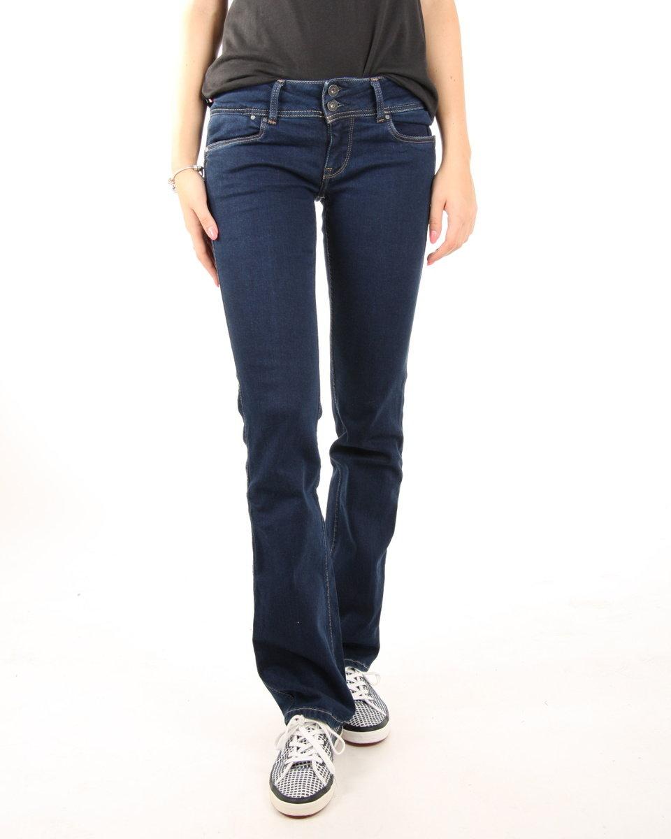Pepe Jeans dámské tmavě modré džíny Grace
