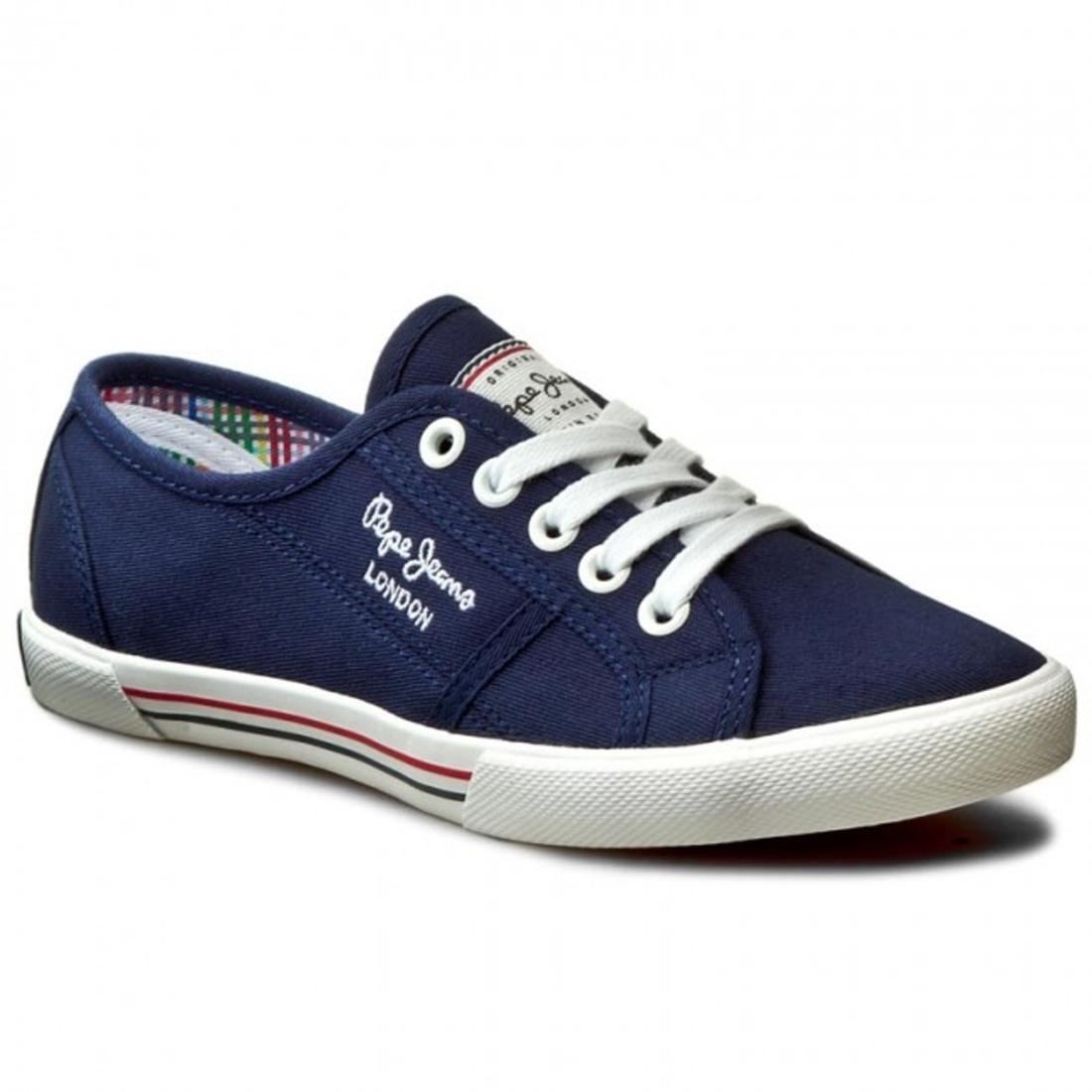 Pepe Jeans dámské tmavě modré tenisky Aberlady - Mode.cz 8c59c71b28
