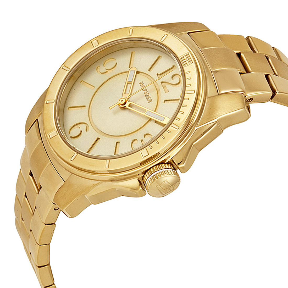 Tommy Hilfiger dámské zlaté hodinky - Mode.cz d49f45caec7