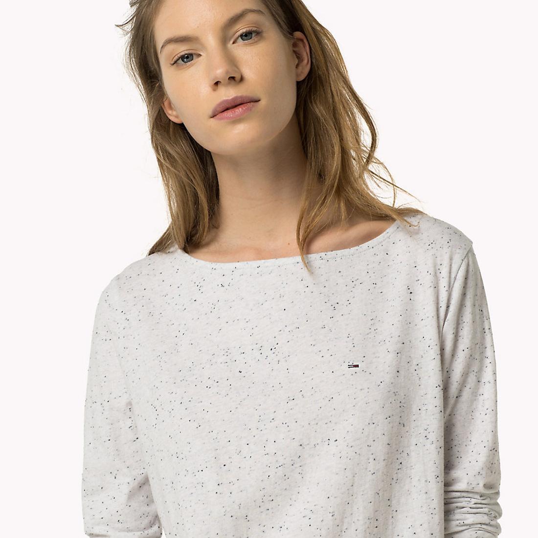 eae170d48f Tommy Hilfiger dámské tričko s dlouhým rukávem - Mode.cz