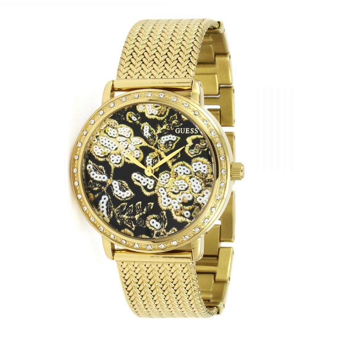 Guess dámské zlaté hodinky - Mode.cz b52e0a0c3e2