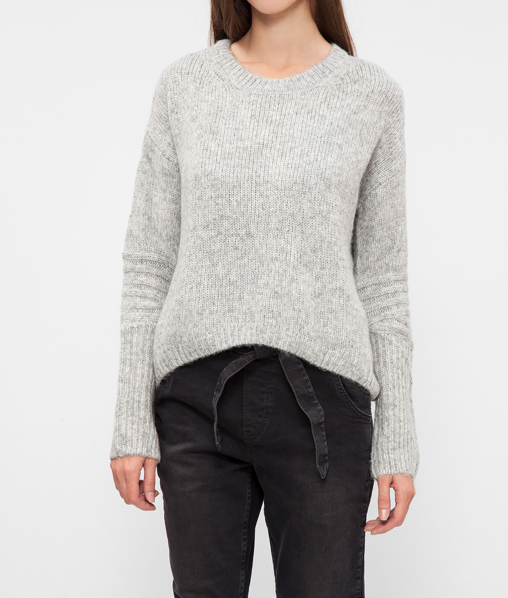Pepe Jeans dámský šedý svetr Gloria