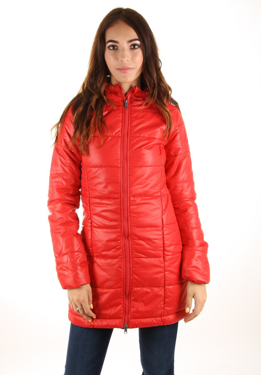 Pepe Jeans dámský červený kabát Tami