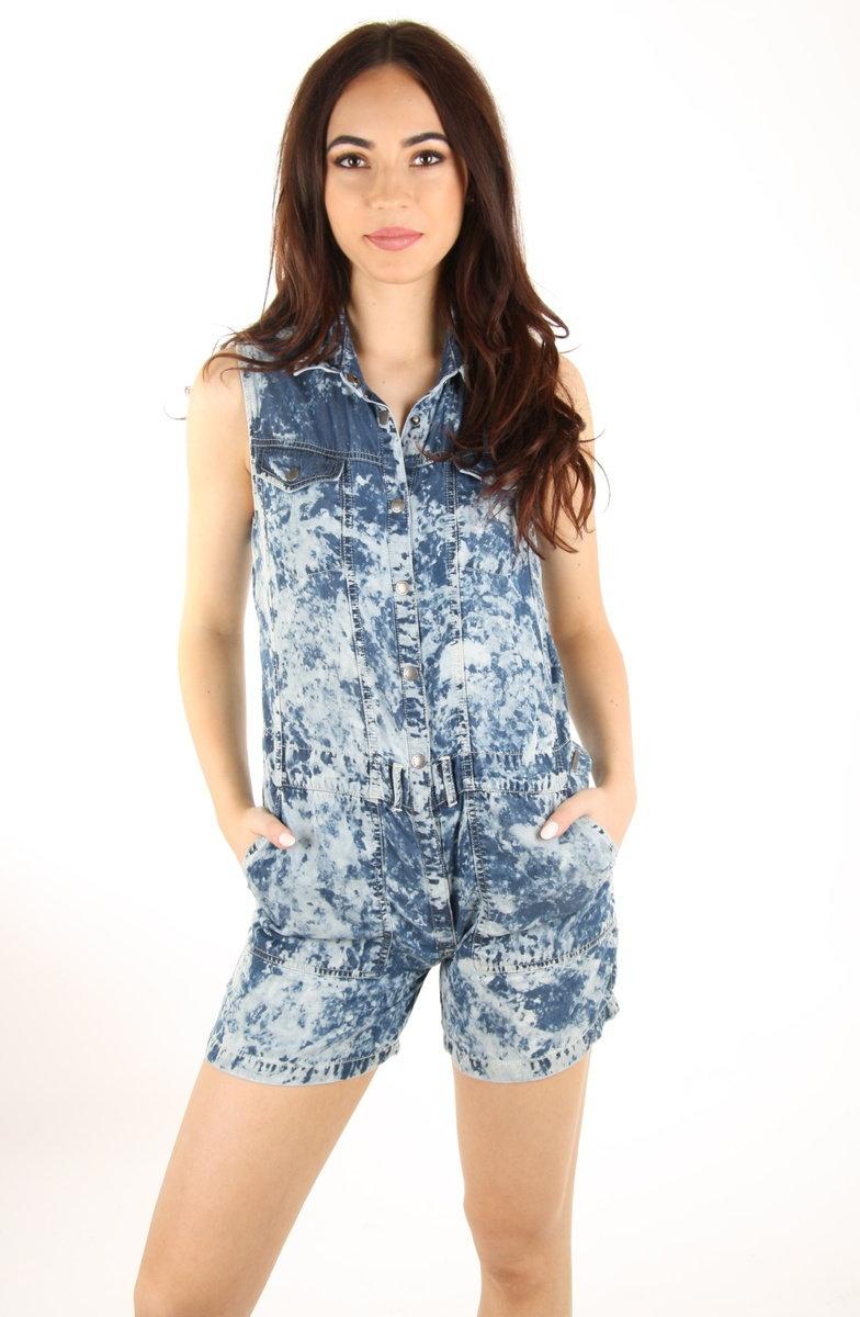 Pepe Jeans dámský modrý overal Mias - XS (551)