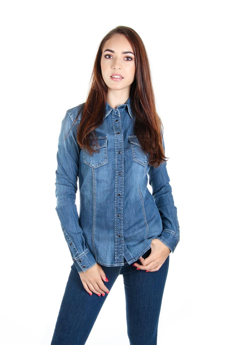 Guess dámská džínová košile Lalima