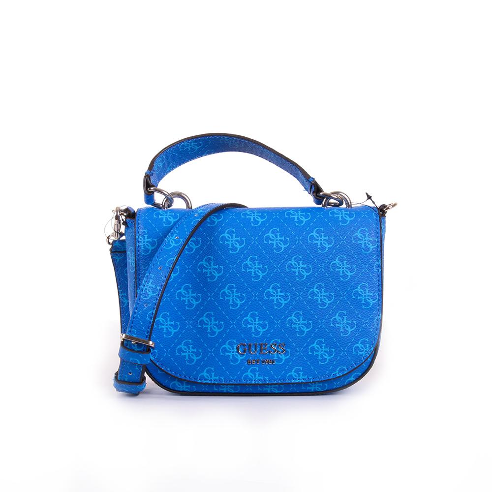Guess dámská modrá crossbody kabelka