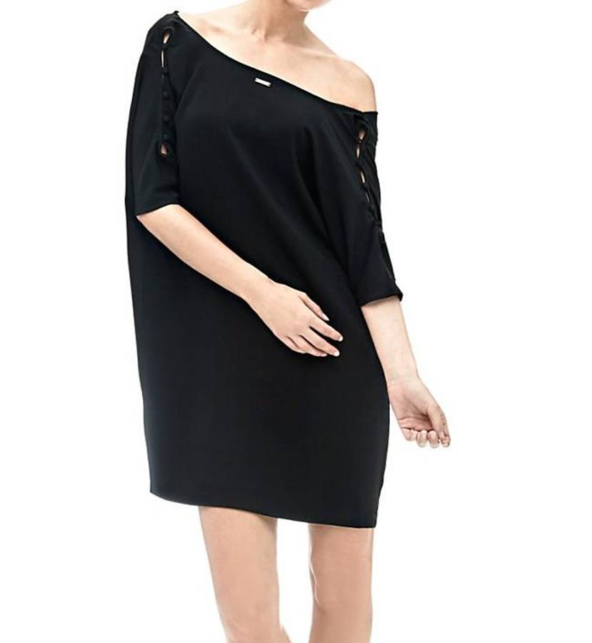 Guess dámské černé krátké šaty 7ee317ffd5e