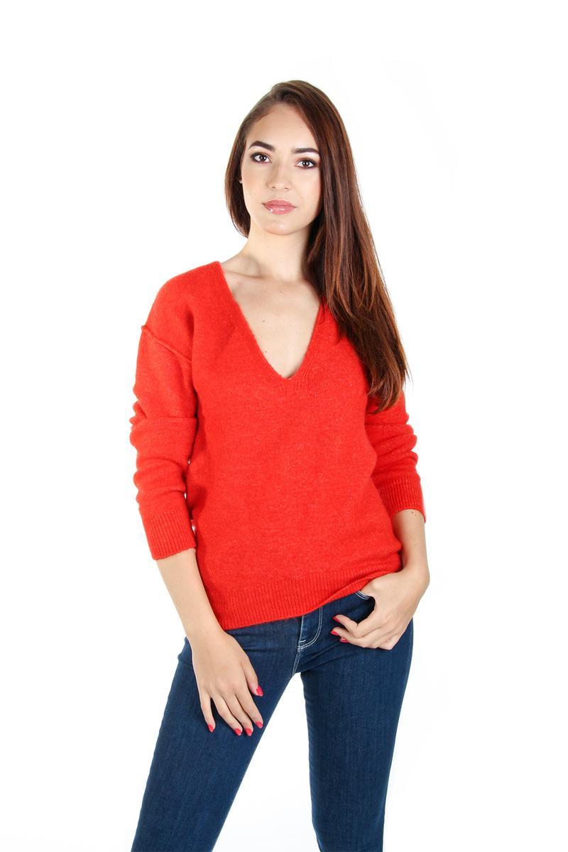 Guess dámský červený svetr Mirta