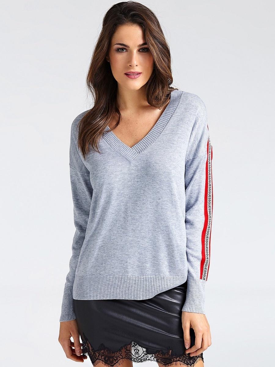 Guess dámský šedý svetr - S (SHGY)