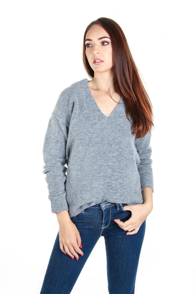 Guess dámský šedý svetr Mirta - M (MCH)