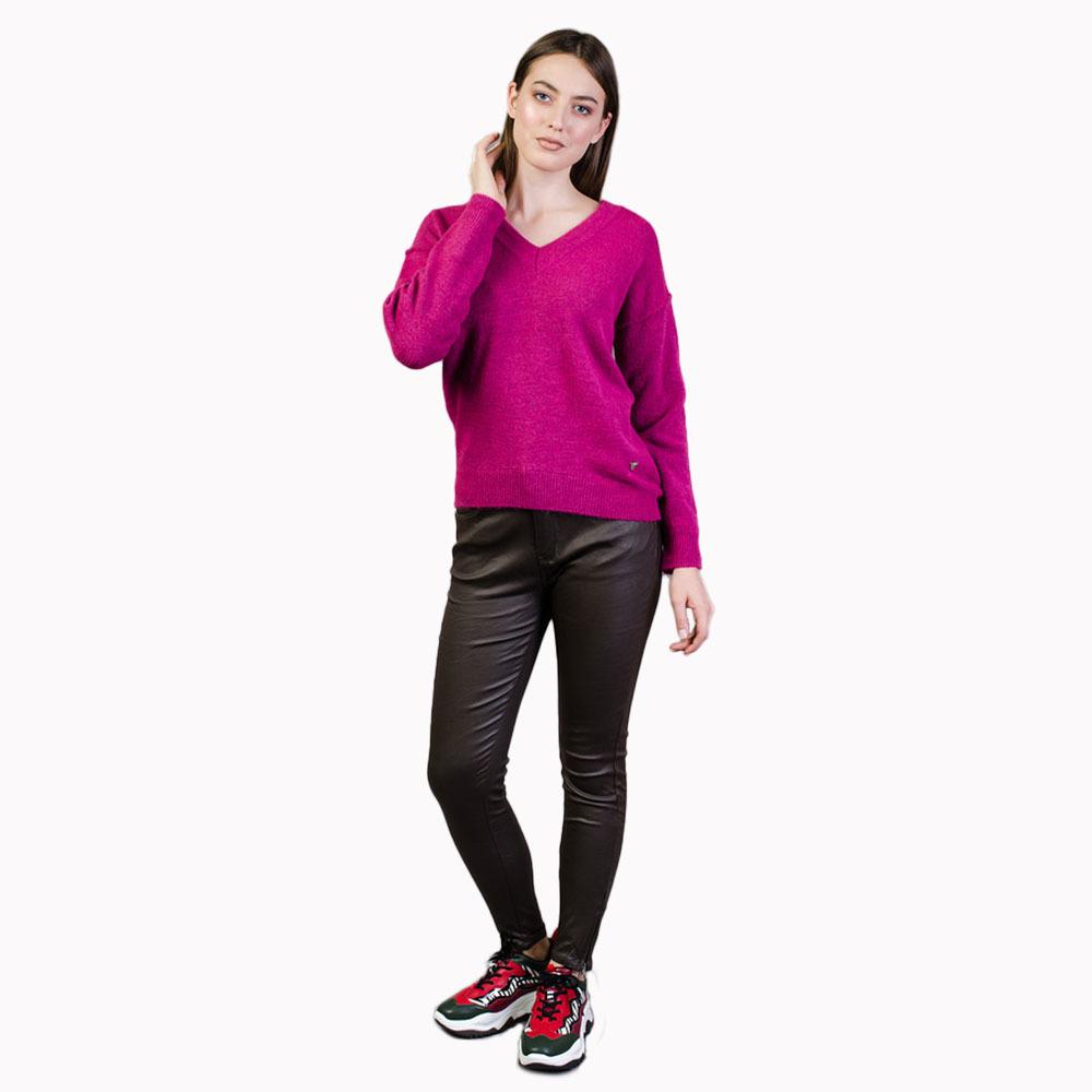 Guess dámský fialový svetr